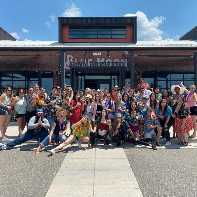 Just a quick staff appreciation post! We are grateful for this amazing team, thank you for all your hard work!  PS- We are hiring multiple positions, come join the team!  • • • #teamworkmakesthedreamwork #bluemoonfam #bluemoonbrewery #coloradobeer #coloradorestaurants #employeeappreciation #rinodistrict