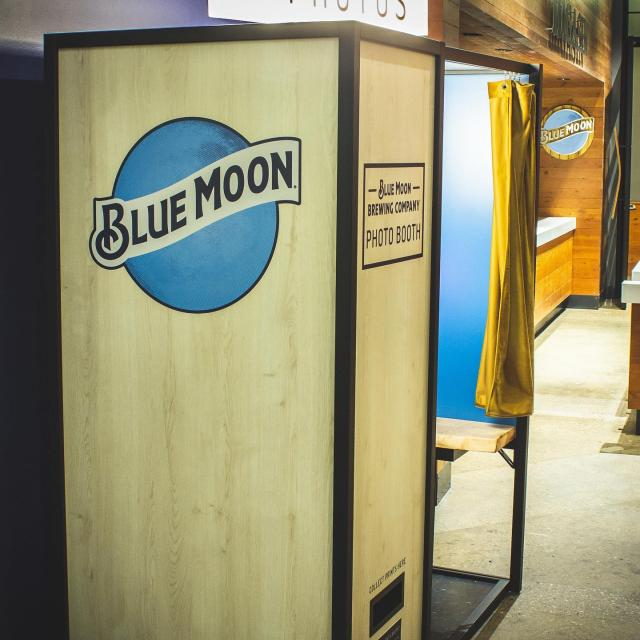 Thanks to @lightbooth we have this snazzy new photo booth at the brewery! Come check it out and snap some fun pics with your friends! Don't forget to post on your Instagram story and tag us for a chance to be featured on our story! Who can take the best pictures!? 🍻 • • • #denver #photobooth #coloradobrewery #bluemoon #beerstagram #photooftheday #photoshoot #new #freshpic #brewerylife #rinodistrict